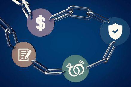 当区块链应用于供应链金融中